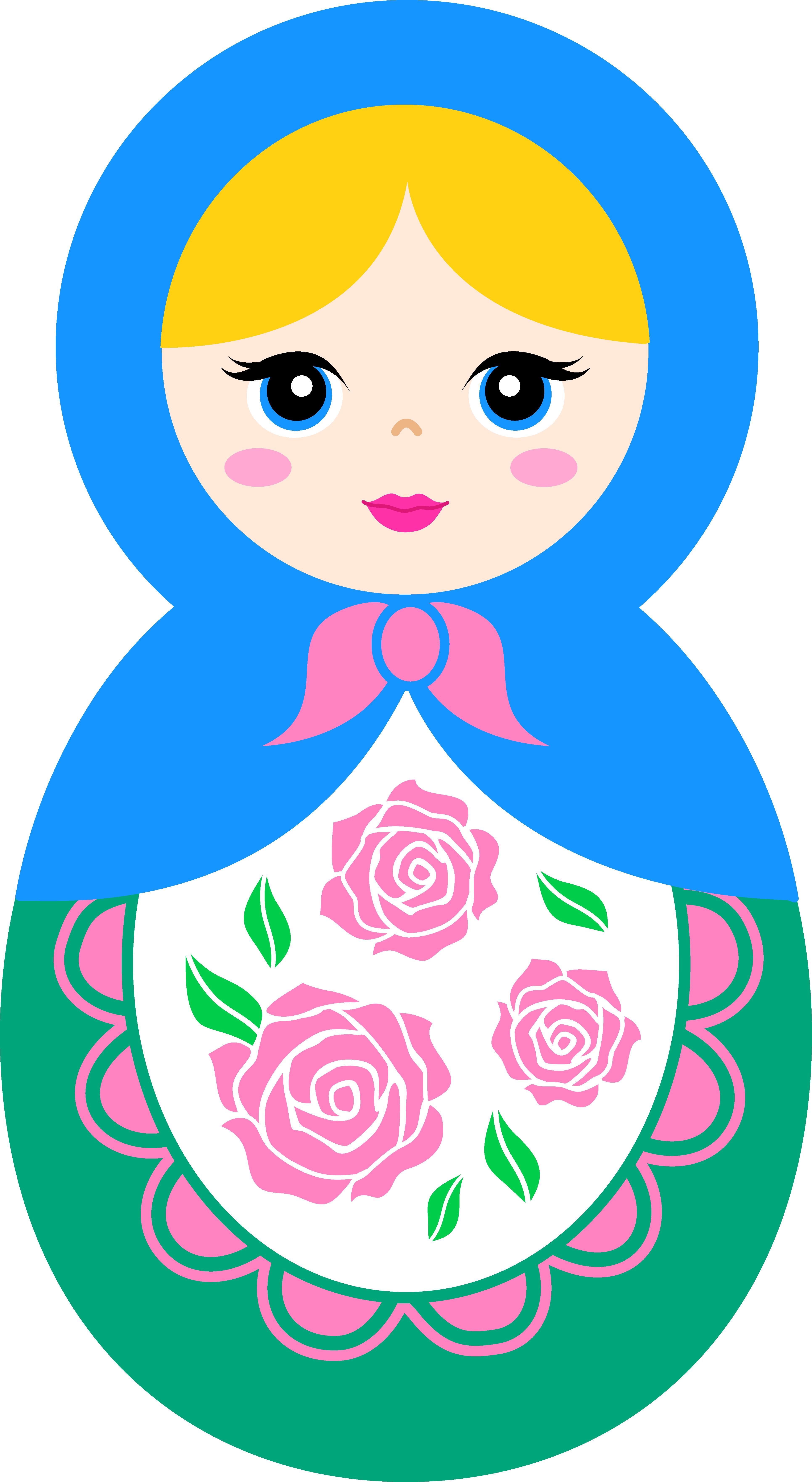 Dolls clipart pretty doll.  huge freebie download