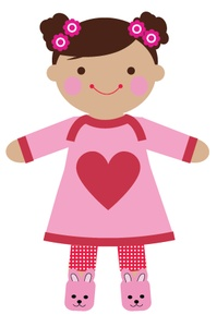 Dolls clipart pink doll. Free cliparts download clip