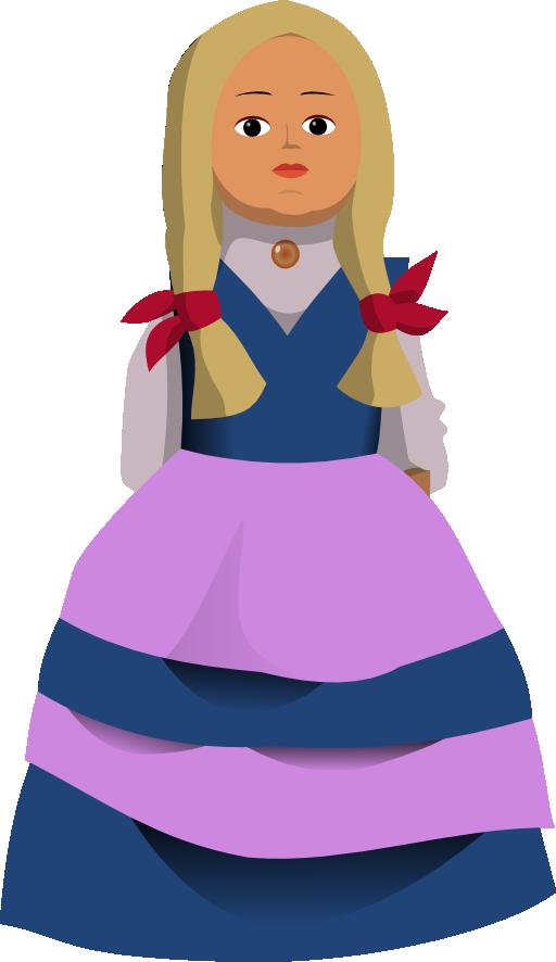 Doll svg