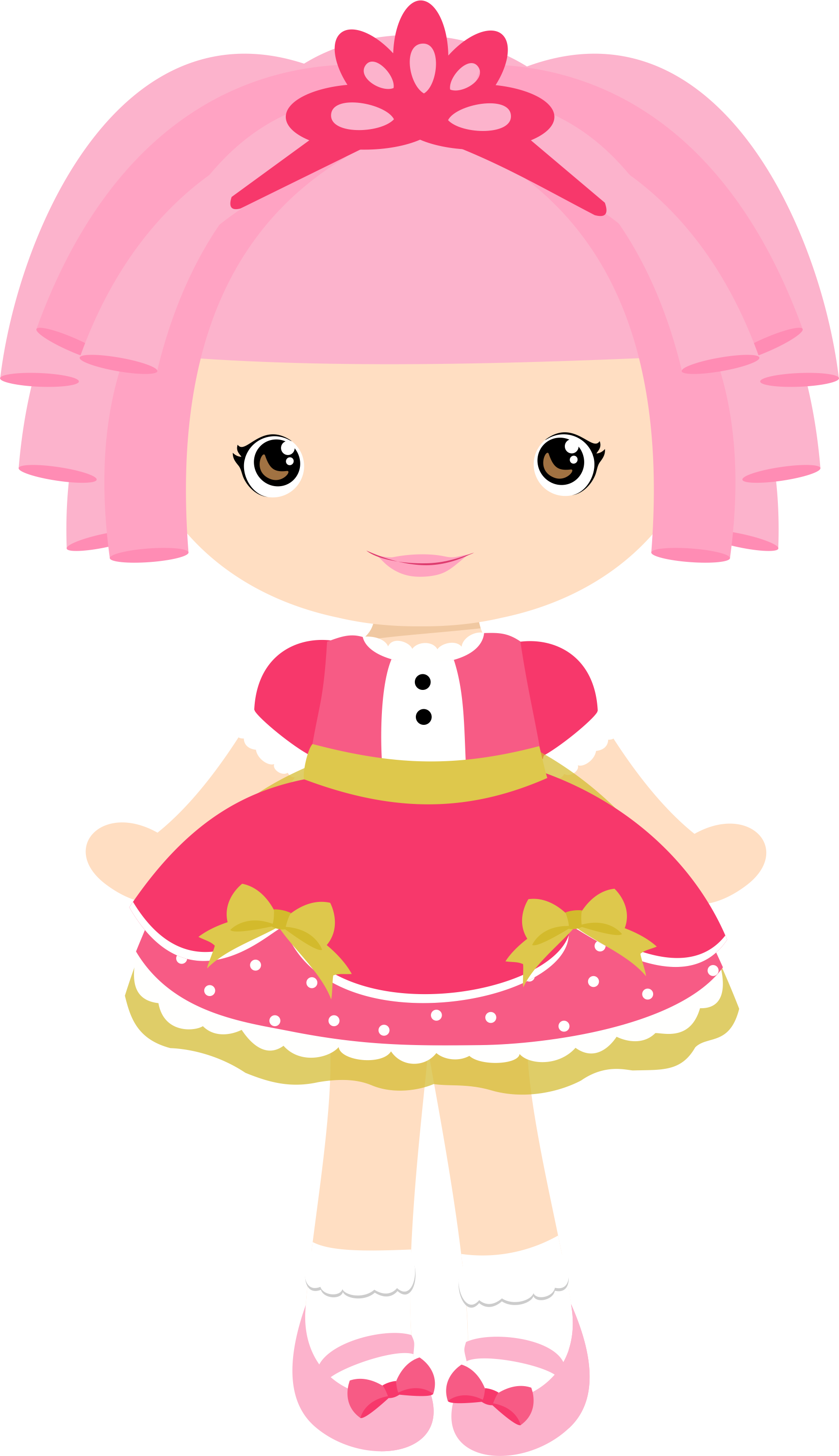 collection of png. Dolls clipart pink doll