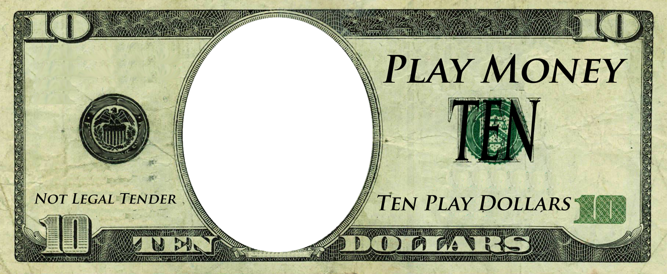 Monopoly money png. Play template templates free