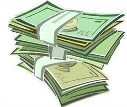 Dollar clipart. Free bill bills