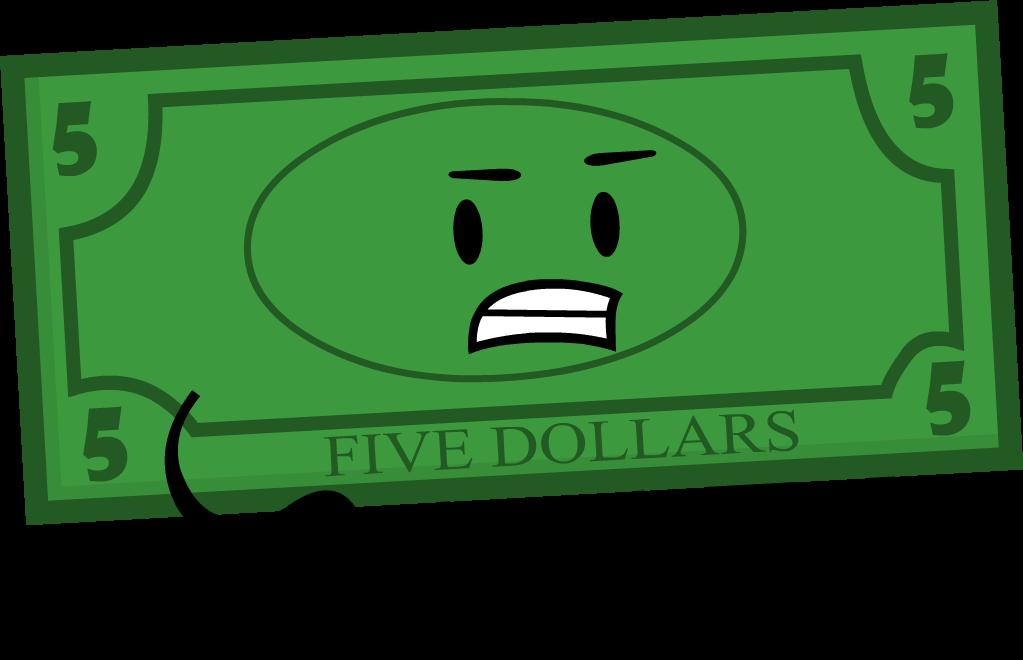 dollar clipart 5 dollar