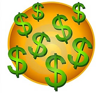 Free money download clip. Dollars clipart animated