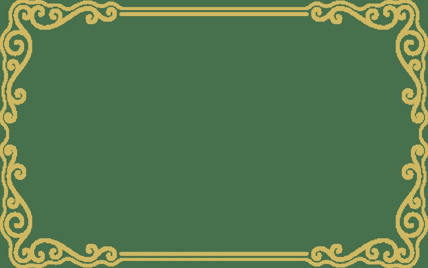 Png border. Gold frame free images