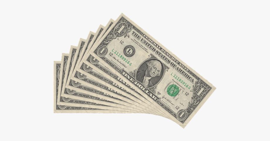 No money dollar bill. Dollars clipart cash