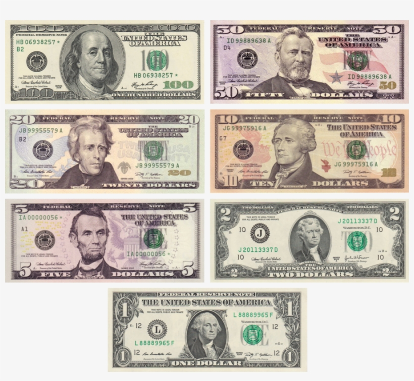Notes banknote united states. Dollar clipart dollar american
