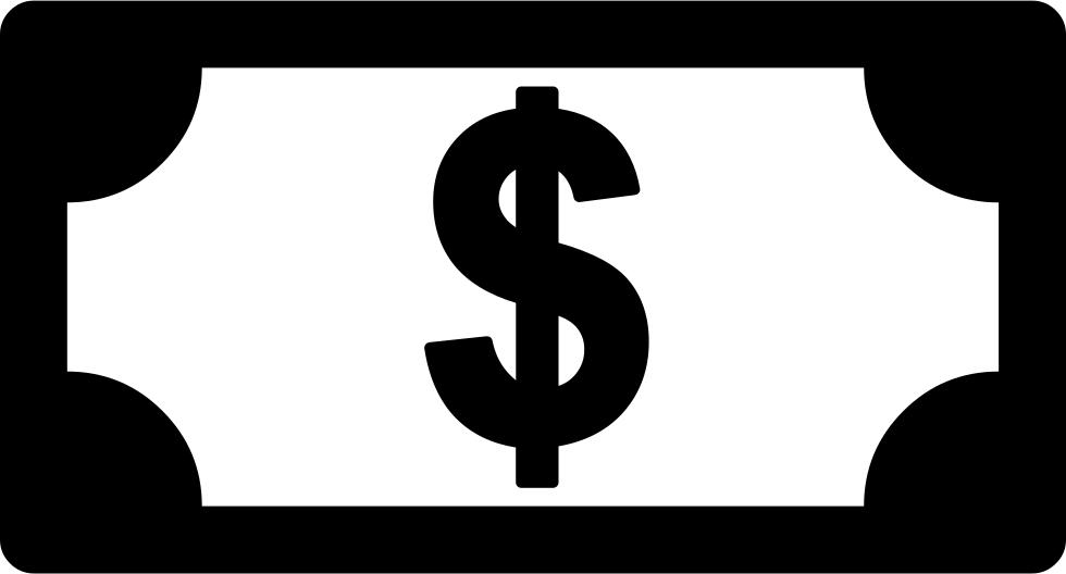 dollars clipart bill due