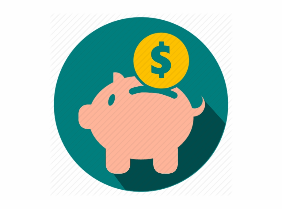 Saving icon png . Dollar clipart extra money