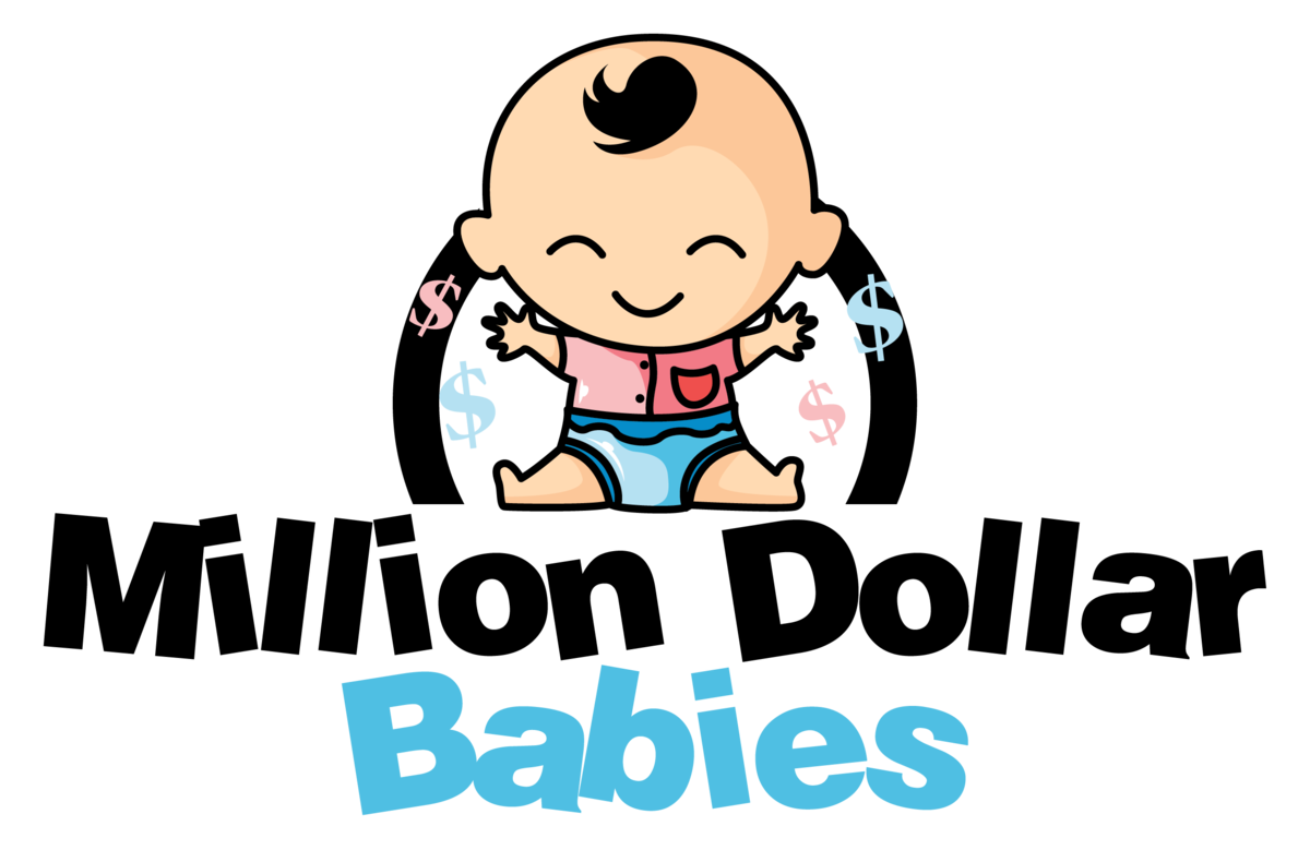 Pajamas clipart baby romper. Million dollar babies