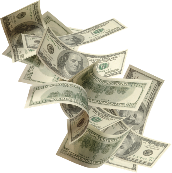Make png transparent images. Dollar clipart money talk