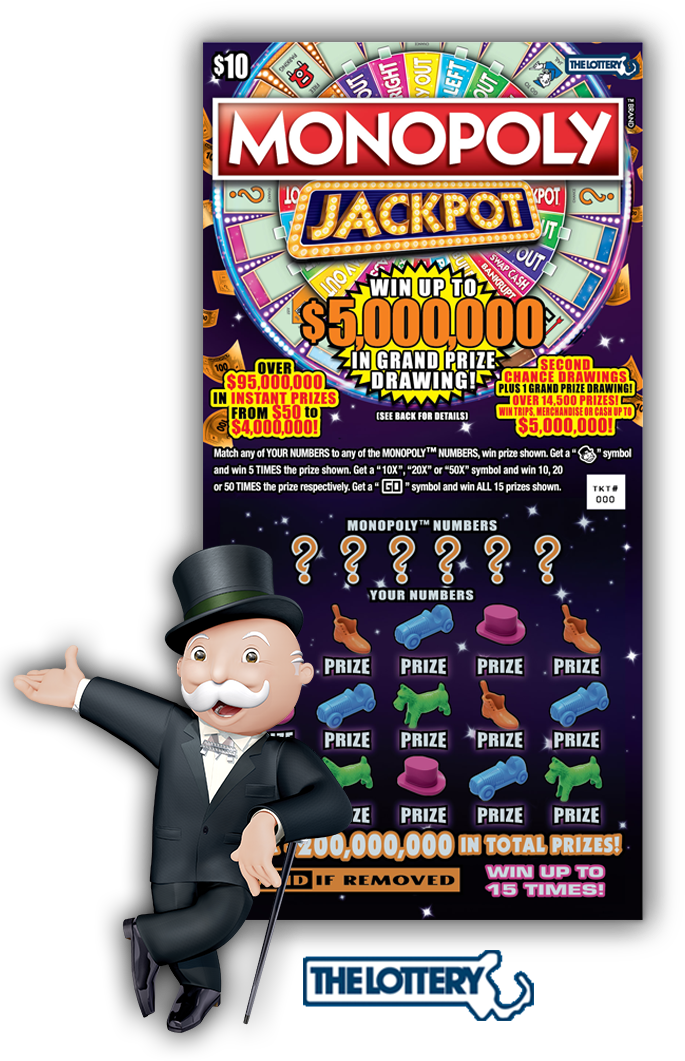Home jackpot ma lottery. Dollar clipart monopoly