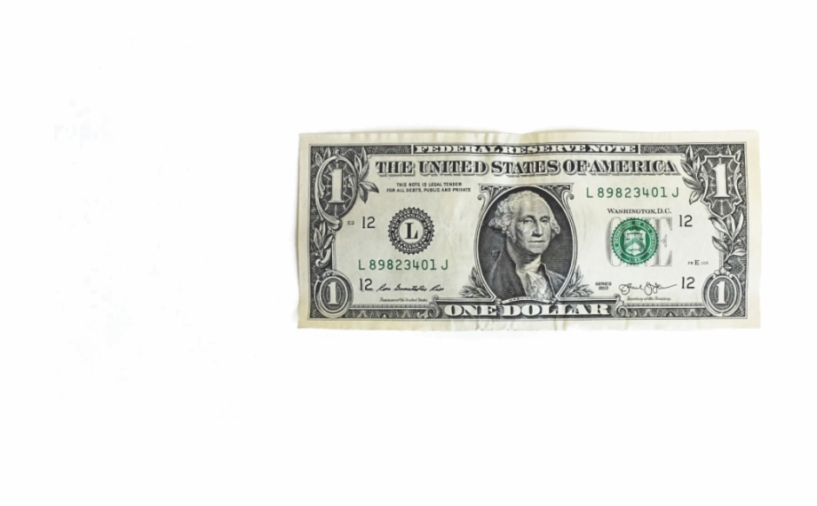 Dollar clipart paper bill. Free png images download