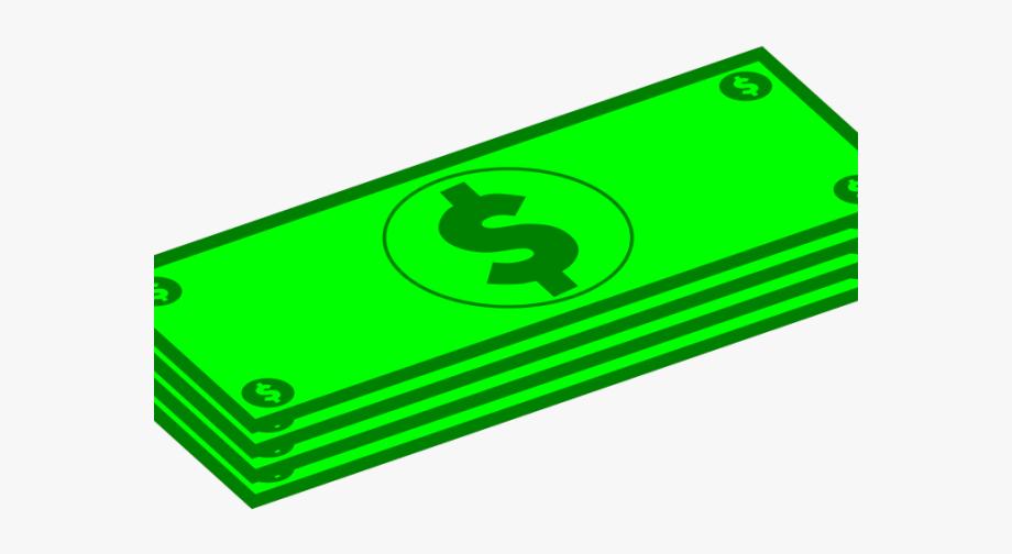 Dollars clipart amount. Dollar small bill clip