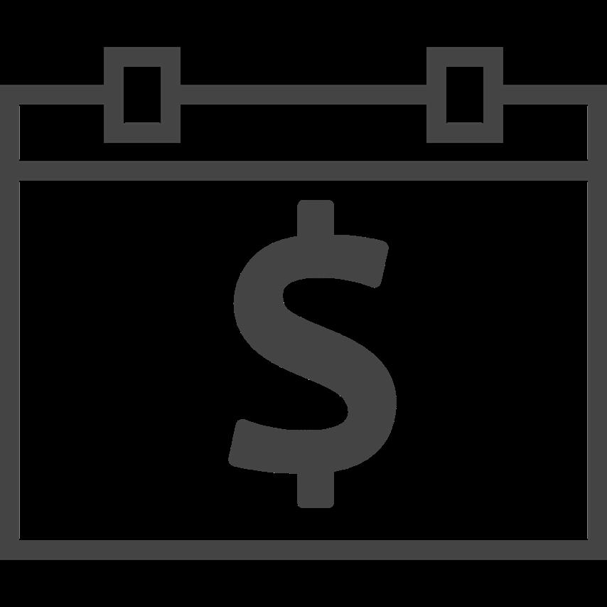 Dollar clipart reimbursement. Careclix ccm calendar with