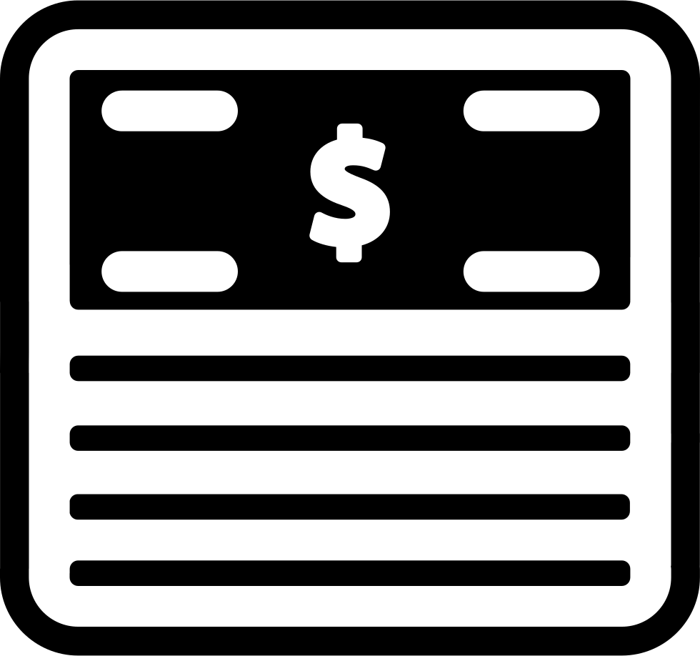 dollar clipart stack bill