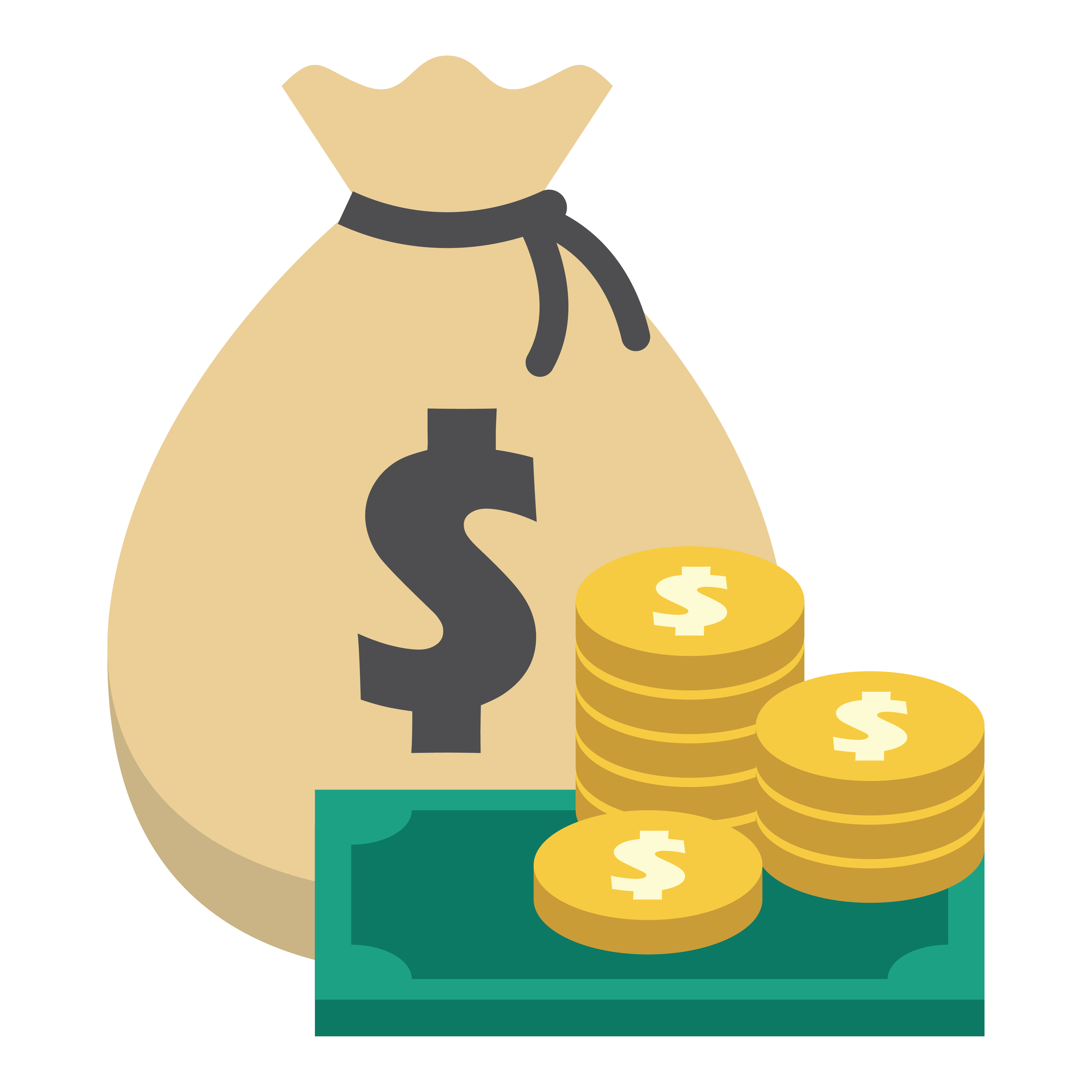 dollars clipart tax money
