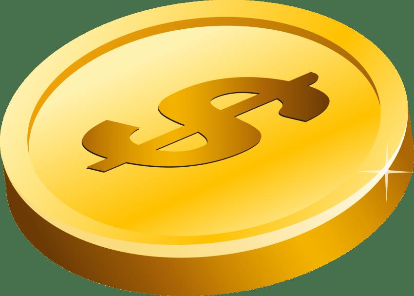 dollar clipart transparent background