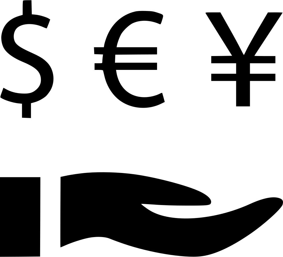 Dollars clipart yen. Dollar euro invest revenue