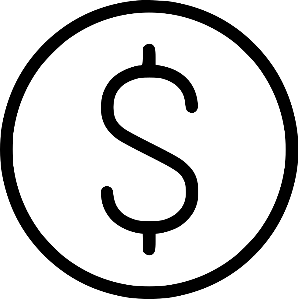 Svg free download onlinewebfonts. Dollar sign icon png