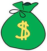 Clip art panda free. Dollars clipart