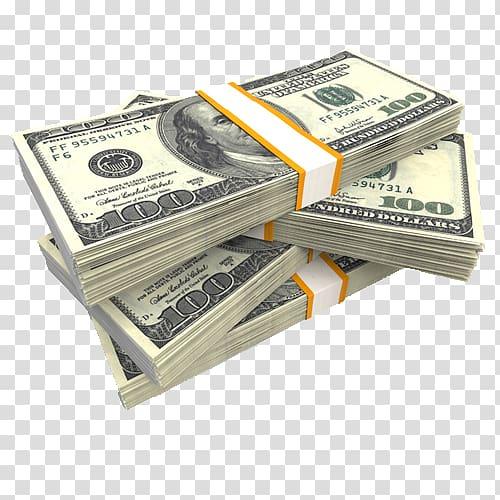 Four bundles of u. Dollars clipart bundle