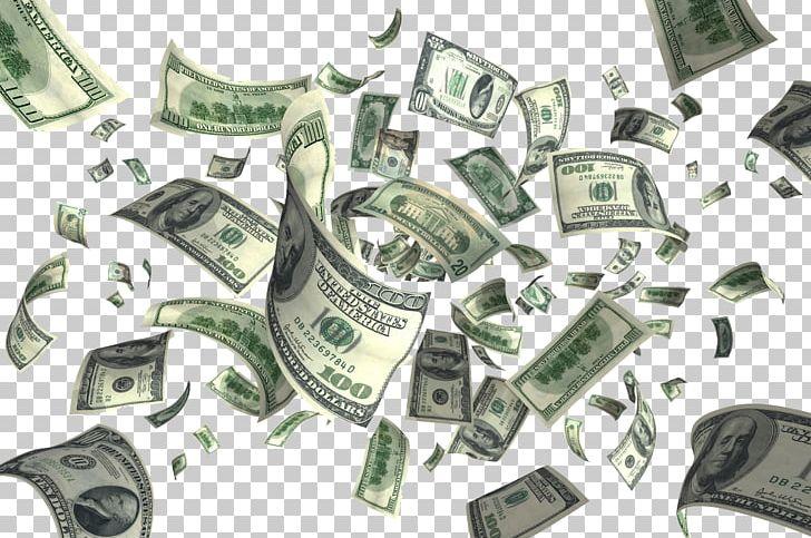 Money flying png clip. Dollars clipart cash