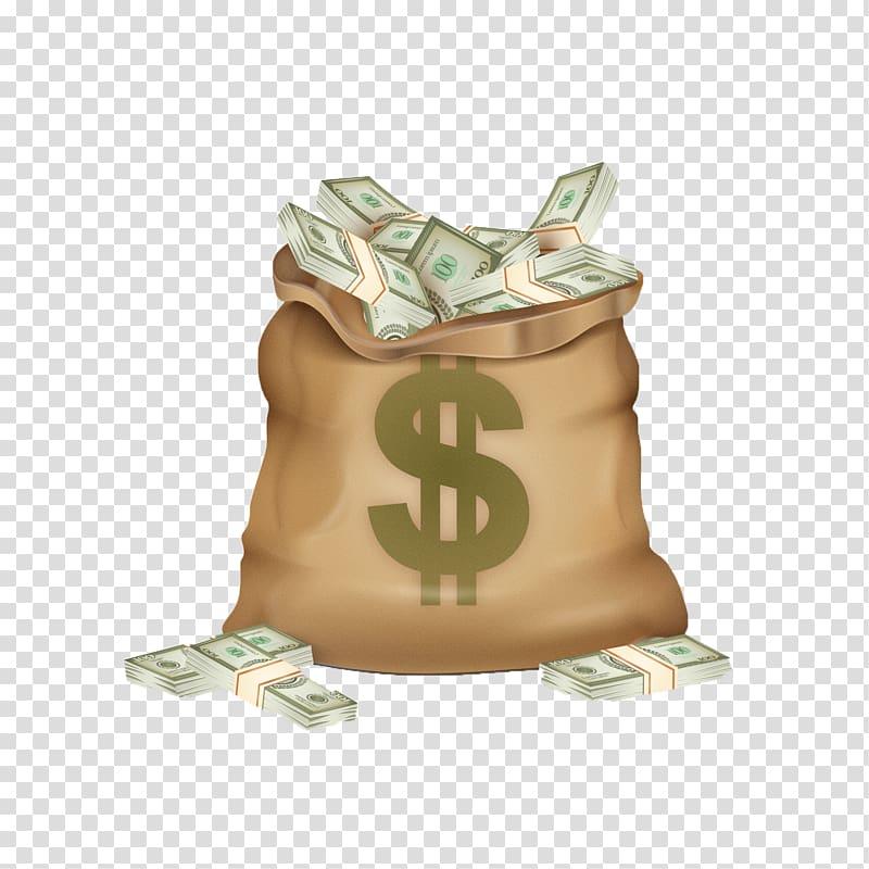 dollars clipart dollar bag