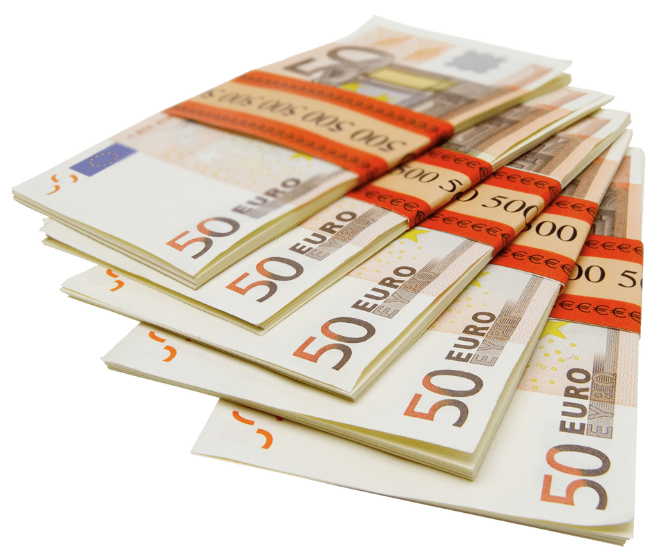 Dollars clipart euro. Pile of notes transparent
