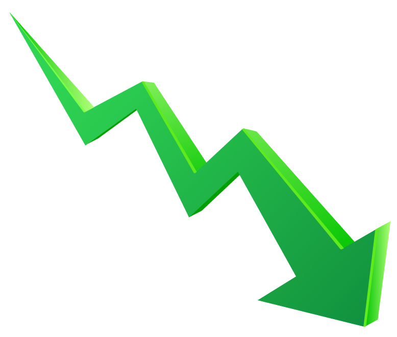 Economy of fast food. Graph clipart stock market graph