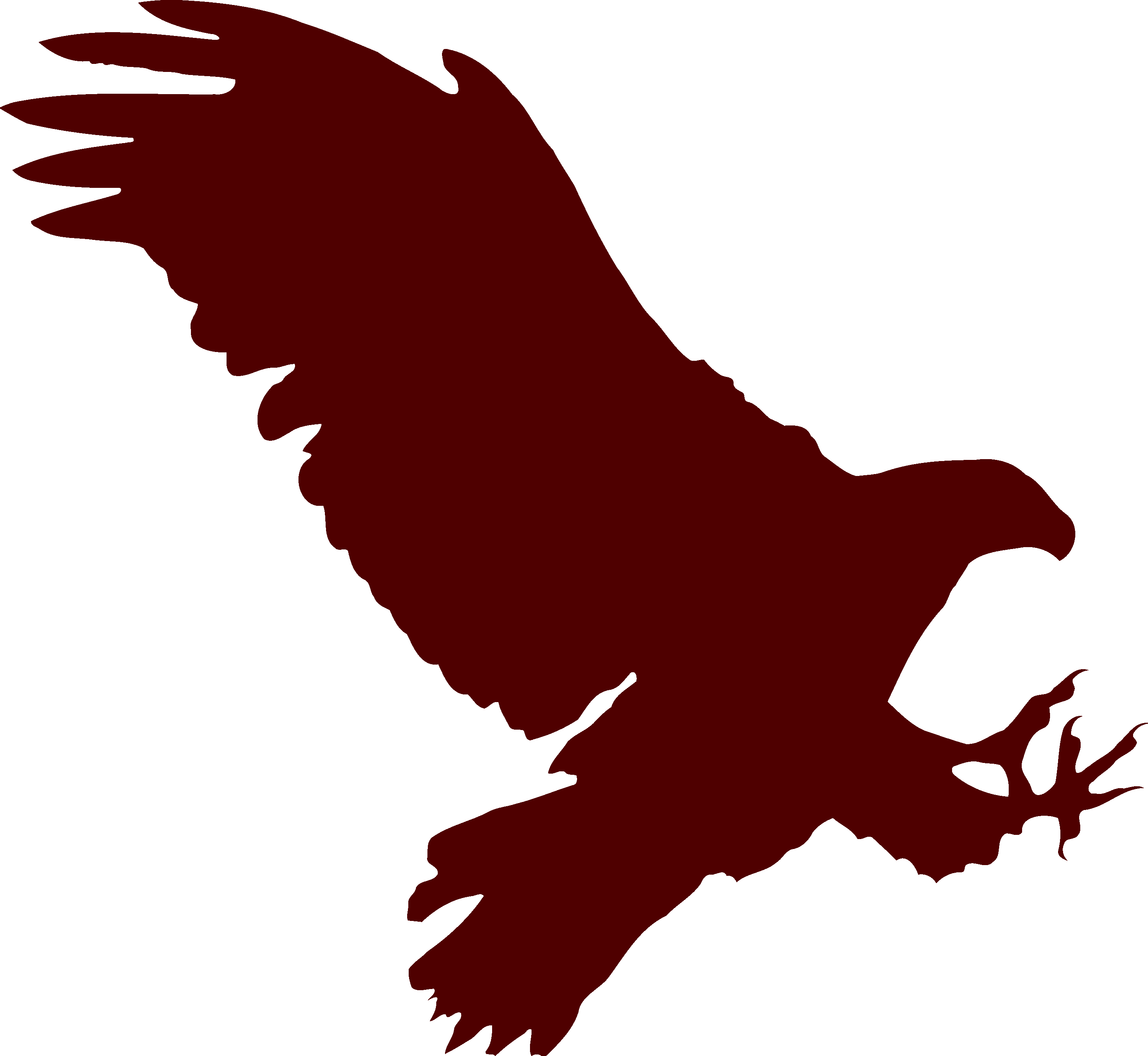 Eagle clipart red. Flying silhouette image id