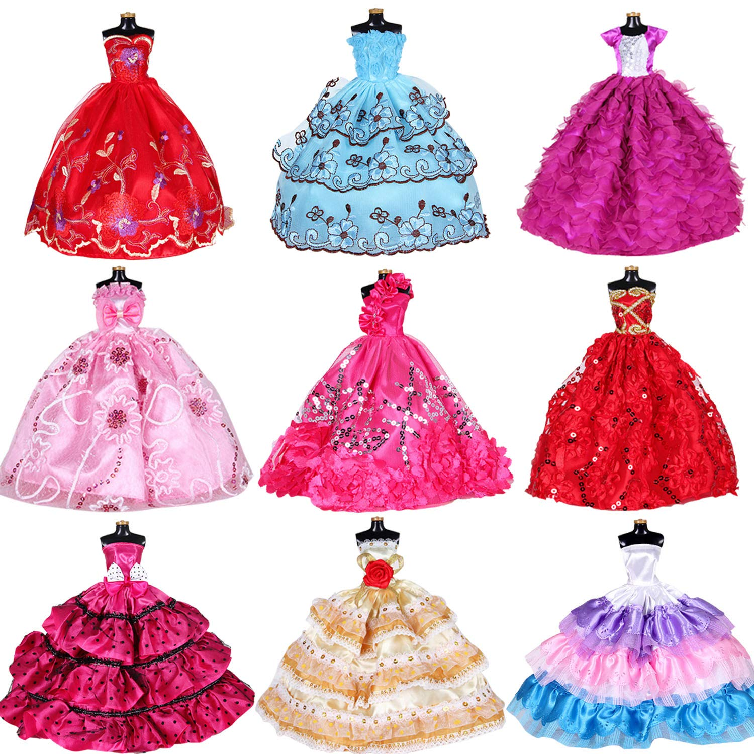 Doll dresses for girl. Dolls clipart clothes barbie
