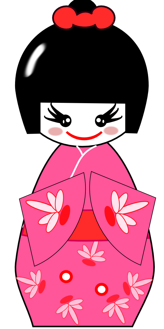 Free to use public. Japanese clipart character