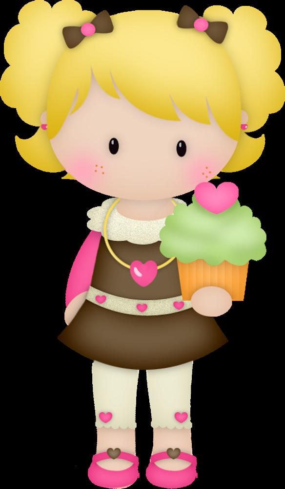 Lady clipart magician. Cupcake bolos e etc
