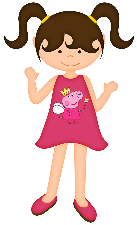 Dolls clipart princess birthday party. Bonecas meninas children pinterest