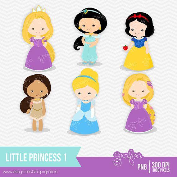 Dolls clipart princess birthday party. Little digital