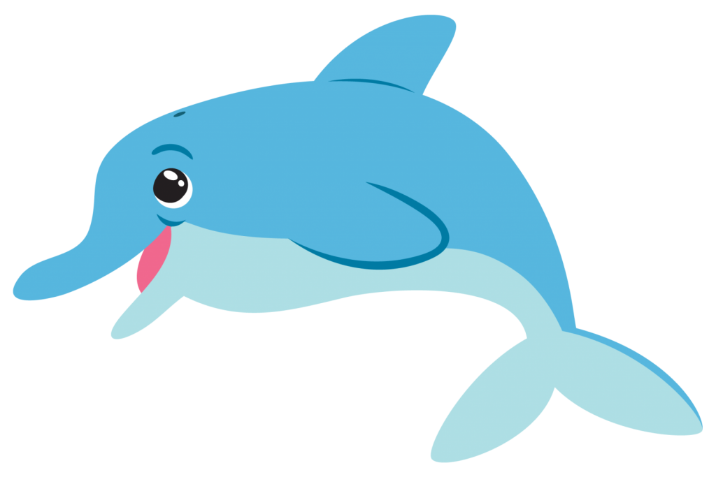 Fish png images with. Dolphin clipart