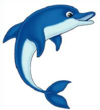 Dolphin clipart. Free