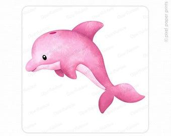 Clip art etsy . Dolphin clipart animal sea nz