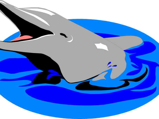 dolphin clipart ball #96849316