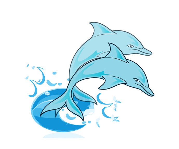 Free images cartoon download. Dolphin clipart carton