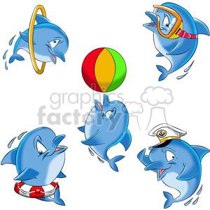 Dolphin clipart comic. Dallas the cartoon image