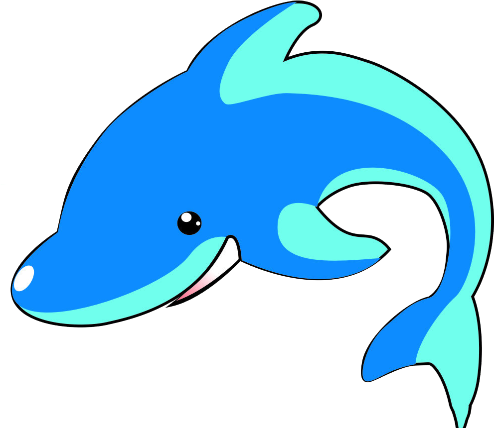 Dolphin clipart dolphin face. Dolphins png cartoon