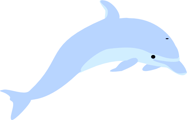 Blue free images at. Dolphin clipart grey dolphin