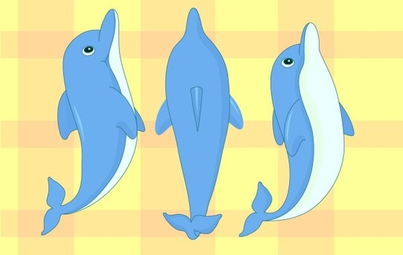 Free vector download for. Dolphin clipart illustrator
