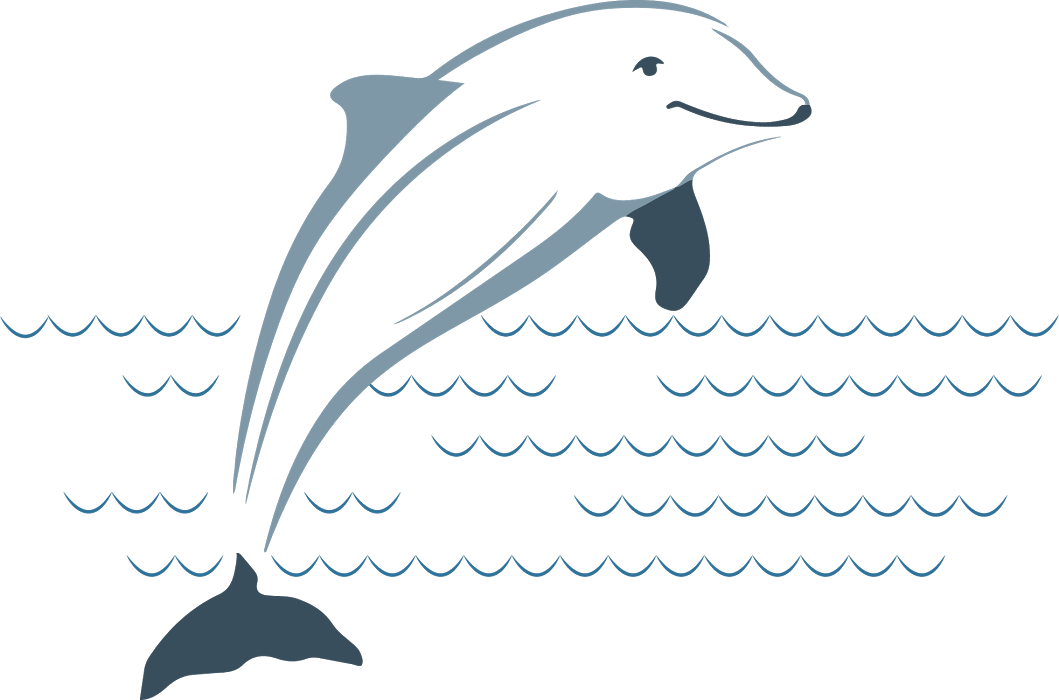 Dolphin clipart living thing. Plumbing home and heating