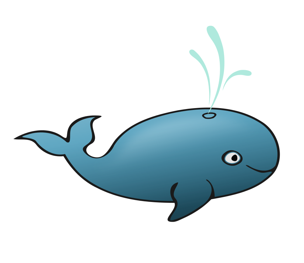 Dolphin clipart pencil. Blue whale rooweb wikiclipart