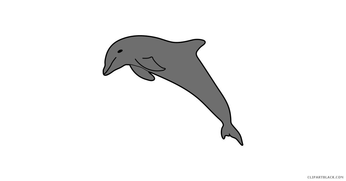 Dolphin clipart pretty. Amazing clipartblack com animal