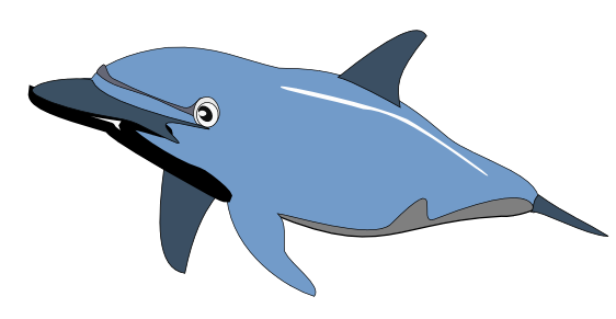 Free page of clip. Dolphin clipart public domain