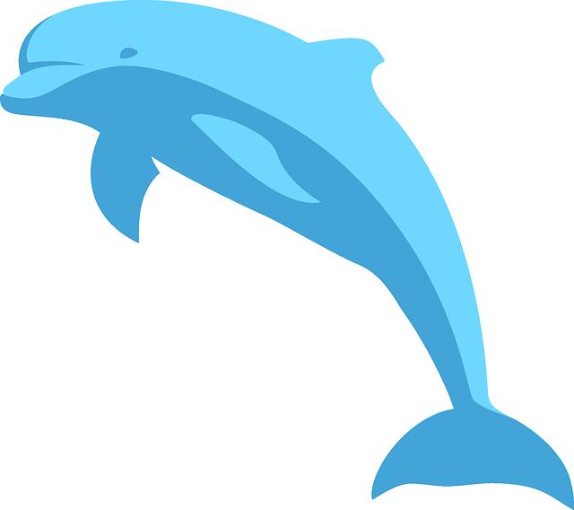 Free clip art bay. Dolphin clipart purple